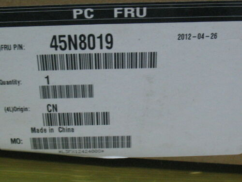 "LENOVO INTEL 160GB SSD 1.8/"" 45N8018 45N8019 SSDSA1M160G2LE SATA 3Gb//s"