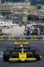 Alessandro Nannini Minardi M187 Monaco Grand Prix 1987 Photograph