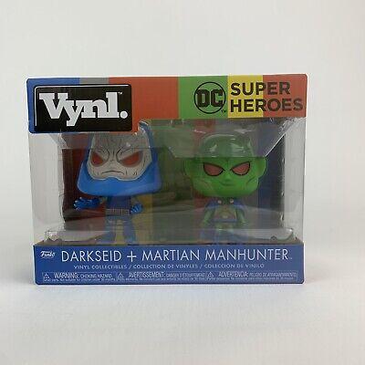Funko DC Vynl Darkseid Martian Manhunter Figure Set NEW Toys Collectibles