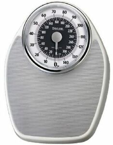 Lovely Image Is Loading NEW TAYLOR 13514102ES 300LB MECHANICAL BATHROOM SCALE  ANALOG