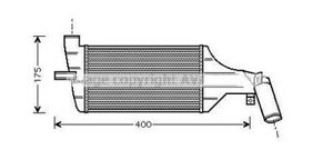 Radiateur-Redroidisseur-Echangeur-de-Chaleur-pour-Astra-G-2-Volumes-8-T98-F69