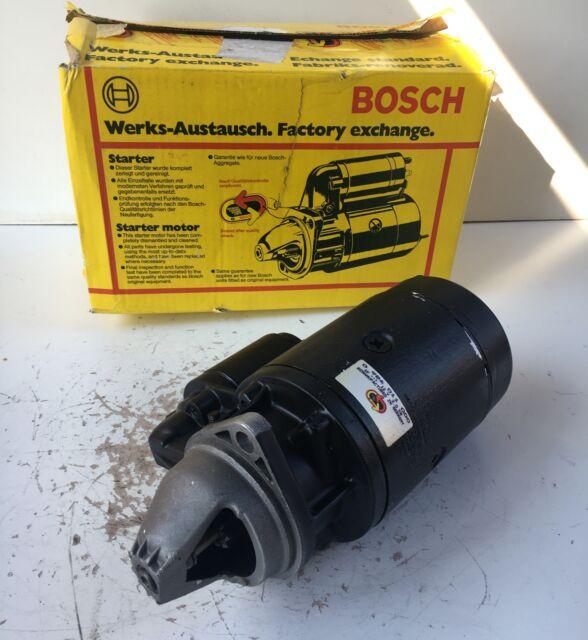 Bosch Anlasser 0986011000 Starter 0001362027 Démarreur 12V 2kW