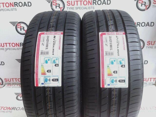 235/45 18 ROADSTONE NEXEN N FERA MID RANGE 23545R18 98W XL TYRES X 2 ( A ) WET