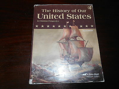 THE HISTORY OF OUR UNITED STATES  Abeka History  homeschooling textbook student