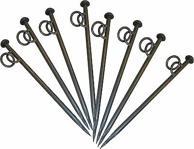 Very Heavy Duty Mooring Stakes for Canal /& River Boats with Eyelet x 2