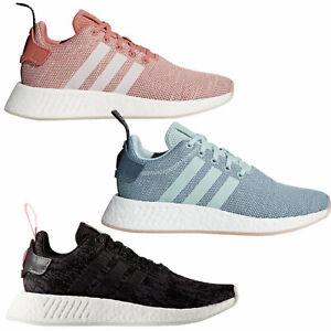 adidas Originals NMD R2 Damen-Sneaker Sportschuhe Schuhe Turnschuhe Nomad NEU