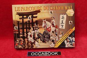 Le-Parcours-du-Samourai-FFKAMA-Karate-jeu-complet-tres-bon-etat