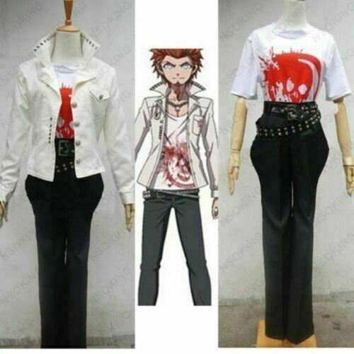 Anime Dangan Ronpa Leon Kuwata Cosplay costume Sur Mesure