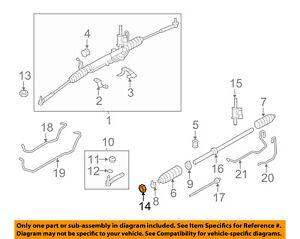 details about subaru oem 84 87 brat steering nut 021814000 Subaru Brat Drivetrain Diagram