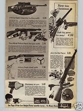 1968 PAPER AD Toy Gun Rifle Johnny Eagle Blastaway Rat Patrol Daisy Dan'l Boone