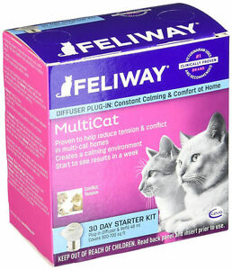 CEVA-Feliway-Multi-Cat-Plug-In-Diffuser-30-Day-Starter-Kit-48-mL