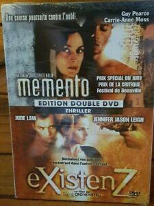 Memento-Plus-Existenz-SEALED-DVD-Region-2