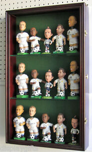 Bobble-Head-Doll-Model-Action-Figures-Display-Case-Cabinet-glass-door-CD15-MA
