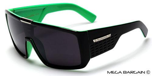 Surdimensionné Carré Lunettes de soleil Biohazard Flat Top Homme Designer 100/% UV400 nuances
