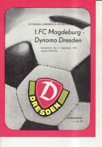 FC Magdeburg OL 83/84  SG Dynamo Dresden 1