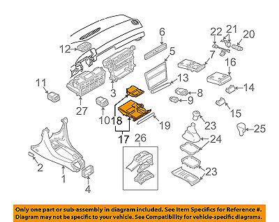 Audi A6 C5 Front Ashtray Assembly