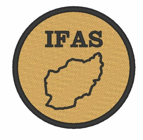 "ONE TV//MOVIE//MILITARY PATCH BLUESTONE 42 /""IFAS/"" PATCH EMBROIDERED"