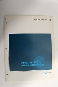 Agilent-HP-Keysight-5952-2121-Application-Note-70-Precise-DC-Measurements
