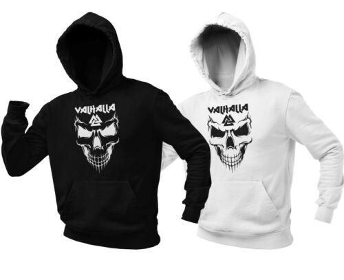 VALHALLA Pullover Viking Hoodie Wikinger Odin Thor Wodan Vikings Shirt Geschenk