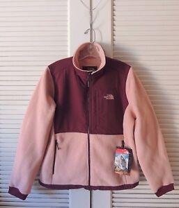 Jacket Dawn Garnet Red Denali Fleece Rose 2 X Face North Polartec EqxPzq
