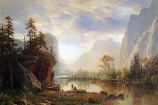 Yosemite Valley -Bierstadt GICLEE ART PRINT