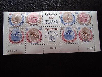 z12 890 A 893 X2 N Briefmarke Yvert Und Tellier Nr Briefmarke Methodisch Monaco