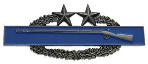 "US Army Combat Infantrymans Badge CIB 3rd Award Brushed 7//8/"" hat badge c//b"