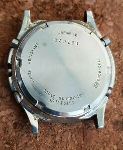 Orologio-SEIKO-7t32-6c60-CASSA-uomo-vintage