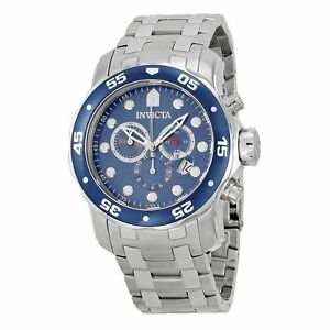 d56231226 Invicta Pro Diver 0070 48mm Stainless Steel Case Stainless Steel Bracelet  Strap