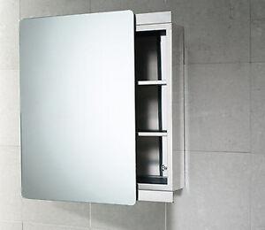 Armadietto bagno kora 46x66 reversibile con anta a specchio scorrevole gedy ebay - Armadietto bagno con specchio ...