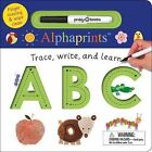 Alphaprints: Trace, Write, and Learn ABC by Roger Priddy (2017, Board Book)