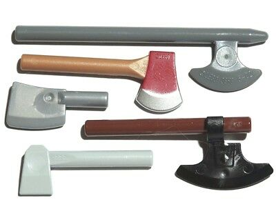 axe Weapon Tomahawk Flat Silver Blade Ax Warrior Series 10 NEW LEGO
