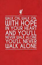 A4 A3 A2 A1 A0| Liverpool FC Football Digital Art Poster Print T1313