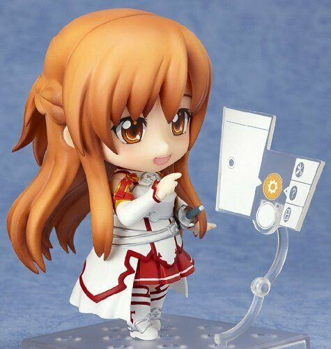 Non-Scale Abs /& Pvc Painted Action Figure New Sword Art Online Nendoroid Asuna