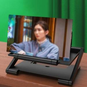 Folding 3D Screen Mobile Phone Amplifier Magnifier Cellphone Stand b b