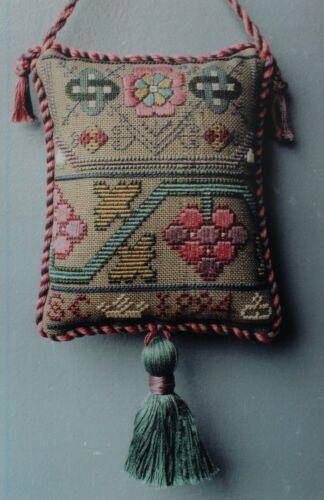 by Nostalgic Needle English Sampler Pincushion