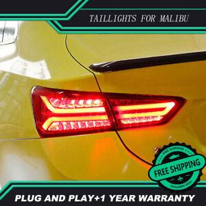 2x Dynamic Car Taillight Tail Lights For Chevrolet Malibu XL 2016 - 19 Rear Lamp