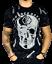 t-shirt-maglietta-manica-corta-UOMO-tipo-PLEIN-teschio-brillantini-JEANS-moda miniature 1