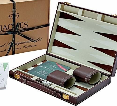 Jaques di Londra Backgammon Set 11 pollici-Lusso Backgammon Set-Grande Viaggio