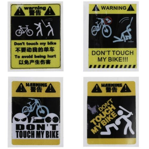Bicycle Sticker Cycling Reflective Safety 4 Type MTB Fixed Gear Frame Decoration