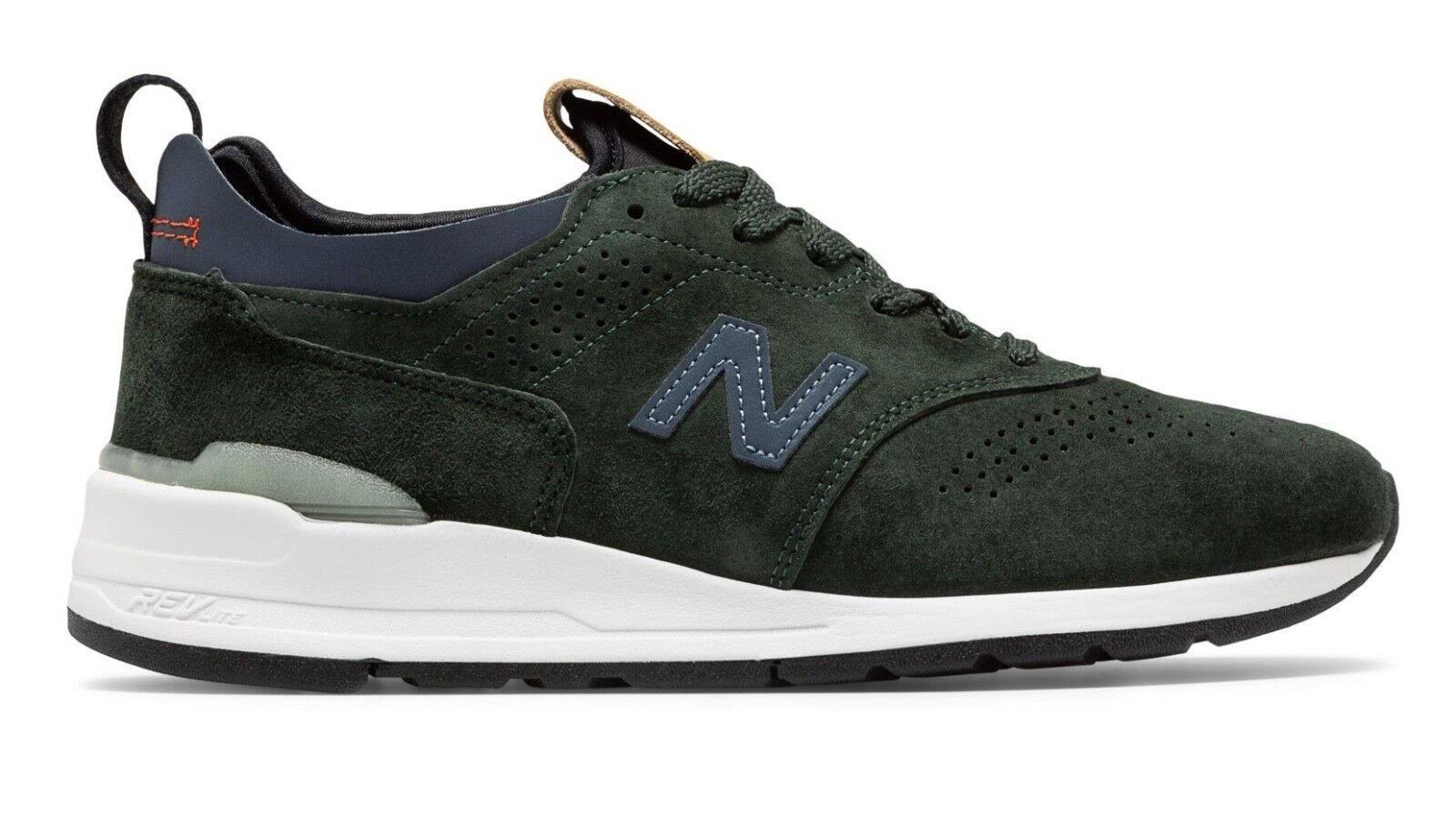 New Balance M997 M997HB2 Green Suede Made In USA Men SZ 8 - 13
