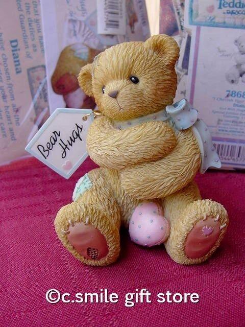Cherished Teddies *DIANA BEAR HUGS* #786845 LE Adoption Center Exclusive MIB Ret