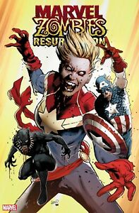 Variant RESURRECTION #1 Signed MARVEL ZOMBIES ~ Marvel Comics Exclusive