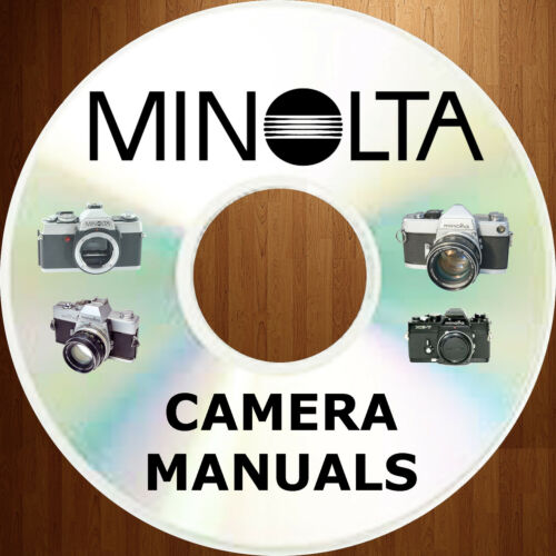 MINOLTA 35 mm Classic 35mm Owners Users Instruction CAMERA Manual MANUALS on CD