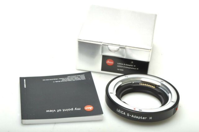 Leica S-Adapter H ( Hasselblad)  16030 NEU / NEW