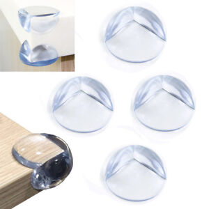 SOFT-PVC-BABY-SAFETY-CORNER-CUSHIONS-DESK-TABLE-COVERS-PROTECTORS-BALLS-PADS-3CM