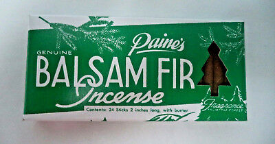 Paine S Balsam Fir Christmas Tree Incense 24 Sticks