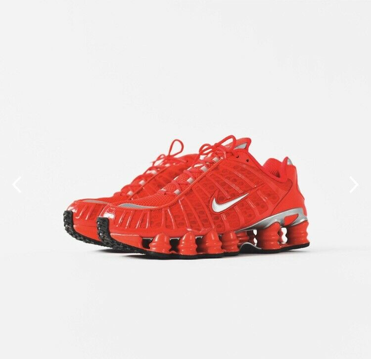 Nike Shox TL - color  Red - Size 10 Men's - Brand New