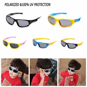 Polarized-Sunglasses-Kids-Teen-Child-Outdoors-Sport-Cycling-Goggle-Eyewear-UV-US
