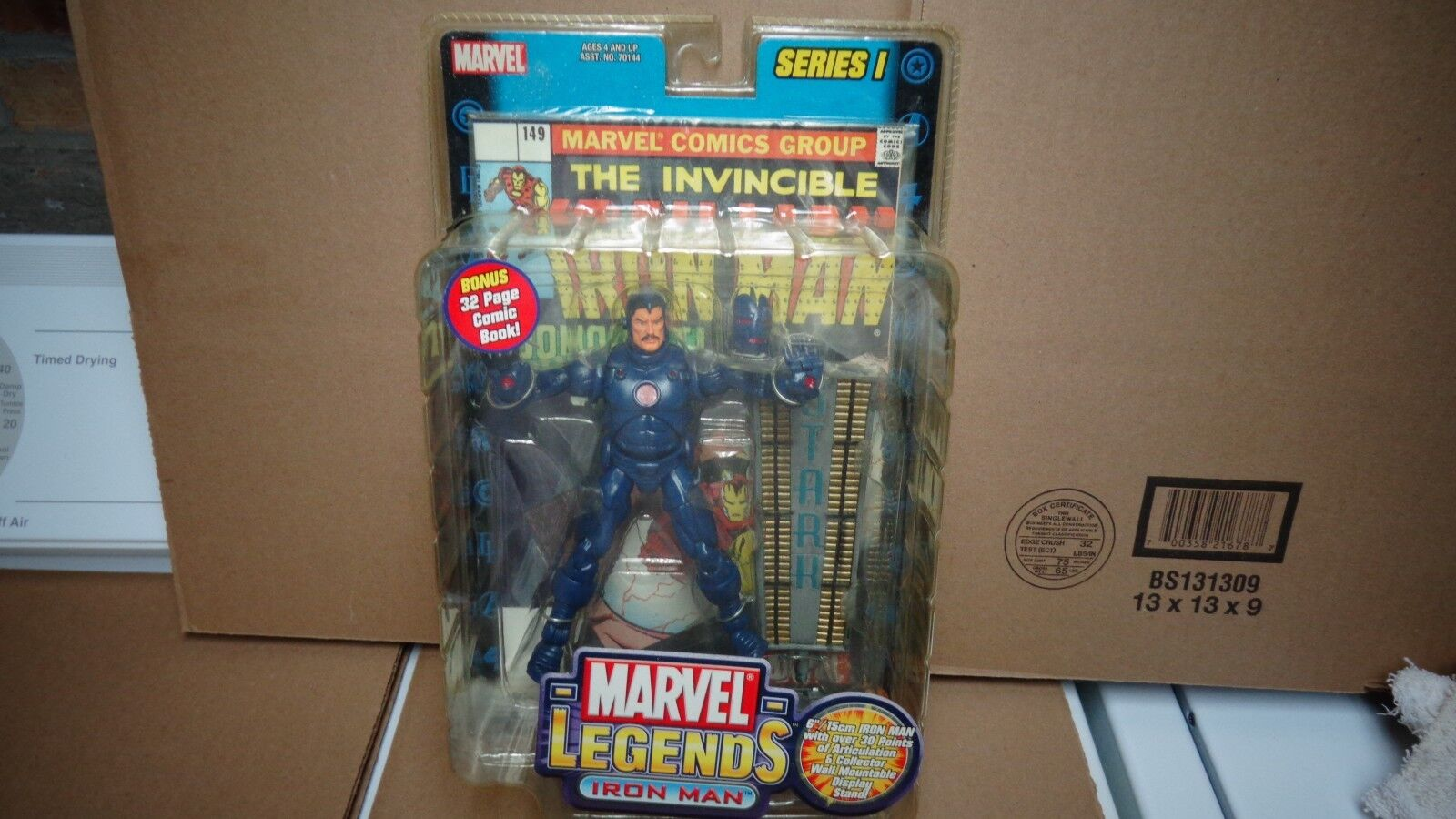 MARVEL LEGENDS SERIES 1  blueE SLEATH IRONMAN LOT OF 5 FIGURES TOTAL NEW